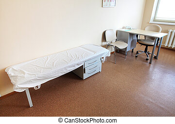 doctor's consulting room - Interior of a doctor's consulting...