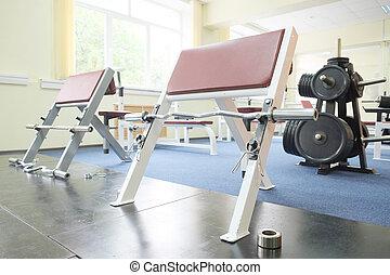 fitness hall