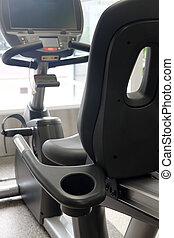 modern fitness hall