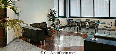 Interior of a modern offi
