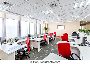 Interior of a modern office