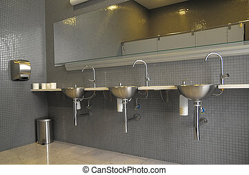 Interior of a Private Restroom