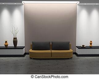 Interior of a room