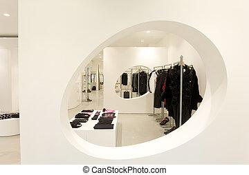 interior of a shop