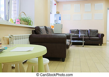 waiting room  - Interior of a waiting room