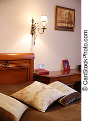 interior of an bedroom