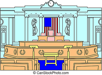 courtroom stock illustration search clipart drawings and vector rh canstockphoto ca Jury Clip Art courtroom clipart free