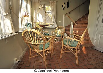 Interior of an old house