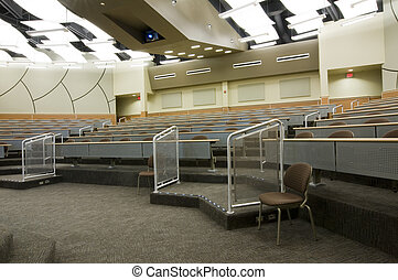 Interior of Auditorium
