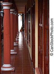 Interior of building in San Cristobal