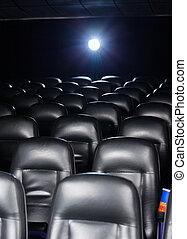 Interior Of Empty Cinema Theater