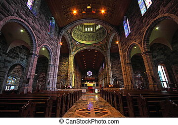 Galway Cathedral, Ireland - Interior of Galway Cathedral,...