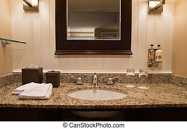 Hotel bathroom - Interior of Hotel bathroom