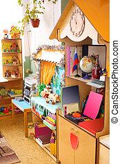 Interior of kindergarten
