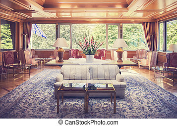 lounge room in Germany hotel