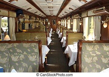 Interior of Luxury Train