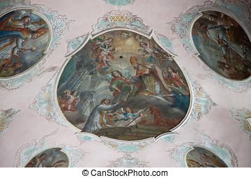 Monastery Schussenried - Interior of Monastery...