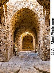 Interior of Paphos Castle - Cyprus