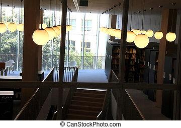 Interior of public building