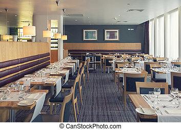 interior of  restaurant in Dublin
