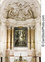 interior of Sanctuary of Our Lady of Fatima, Fatima, ...