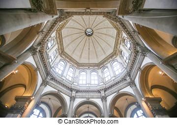 Interior of Santa Maria della Salute - VENICE, ITALY - ...