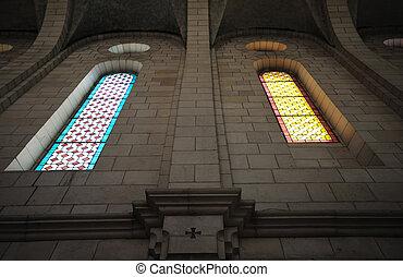 Interior of the church in the monastery Latrun