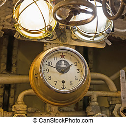 interior of the submarine