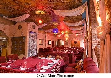 interior, parte, restaurant's