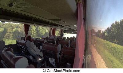 Interior passenger bus transport, group