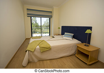 Interior - A modern and decorated bedroom