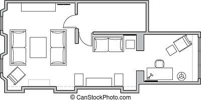 plan design - interior plan design
