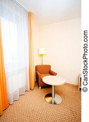 interior, quarto hotel