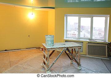 interior, renovação lar