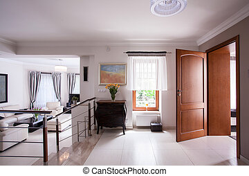 interior, residência, luxo, projetado