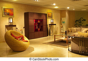 Interior residential apartments
