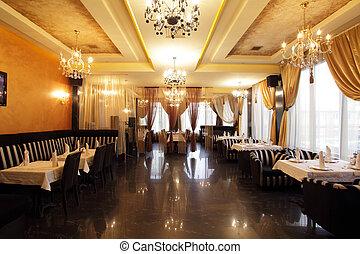 interior, restaurante