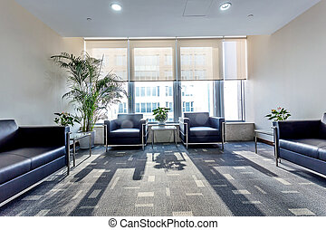 interior, sala de espera