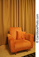interior, -, sala de estar