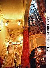 interior shaft - Art Deco Town Hall Prague