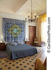 Interior shot of Bedroom