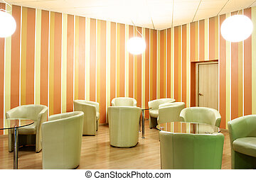 interior, sillón cuero