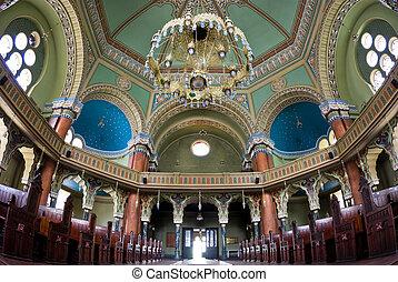 interior, sinagoga