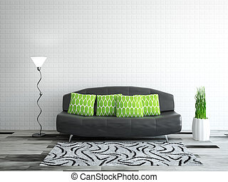 interior, sofá, sala