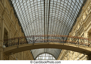 Interior store GUM, Red Square, Moscow, Russian Federation