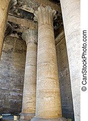 Interior, Temple of Horus, Edfu