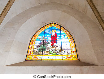 interior, tibidabo, igreja