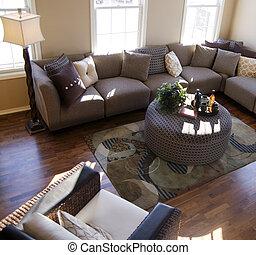 interior til hjem, konstruktion