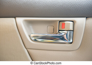 interior view of car, automobile
