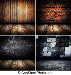interior, vindima, sala, collection.
